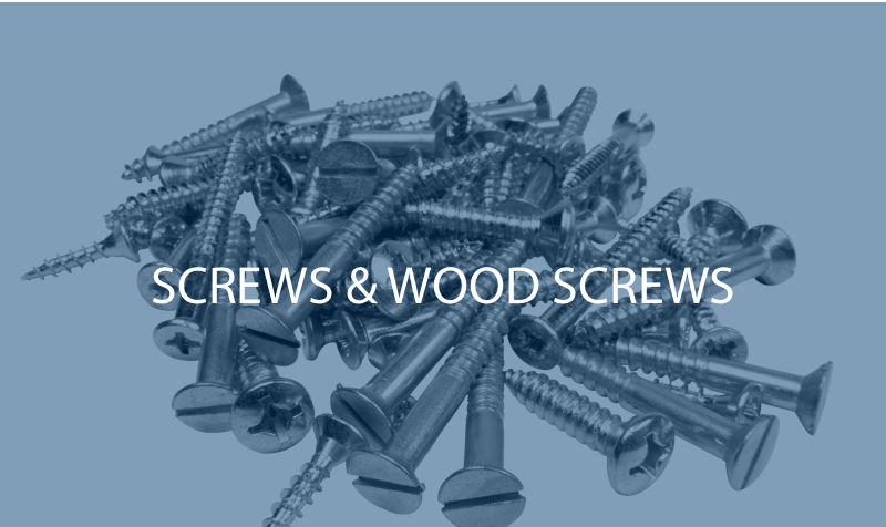 Screws & Wood screws O'Hare Components