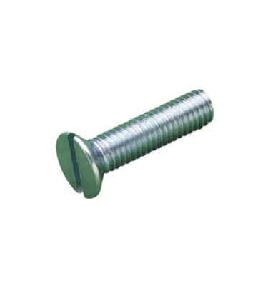 Head Machine Screws Zinc Plated